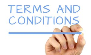 Terms and Conditions Uitgelichte afbeelding