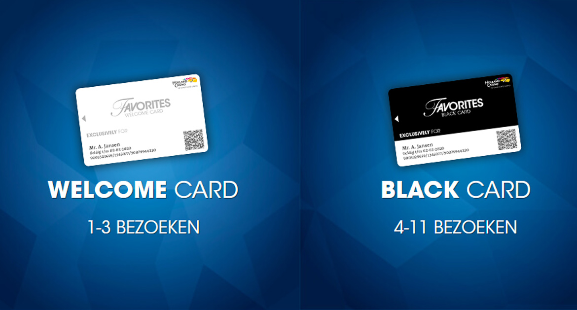 Favorites Card Holland Casino